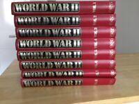 World War 2 Red & Gold Volumes 1-8