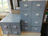 Storage Drawers, 2 & 4 drawer sets drawer sets