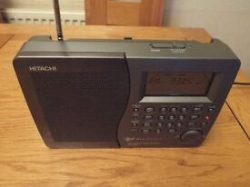 Hitachi KH-WS1 Worldspace Satellite Radio Receiver with FM/AM/SW1 & SW2