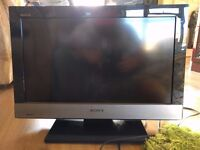 """SONY Bravia 22"""" Full HD TV with stand attached KDL-22EX302"""