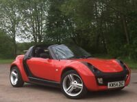 2005 SMART ROADSTER 700CC SEMI AUTOMATIC+PADDLE SHIFT+CONVERTIBLE SUMMER BARGAIN