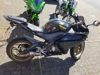 Yamaha yzf r125 non runner