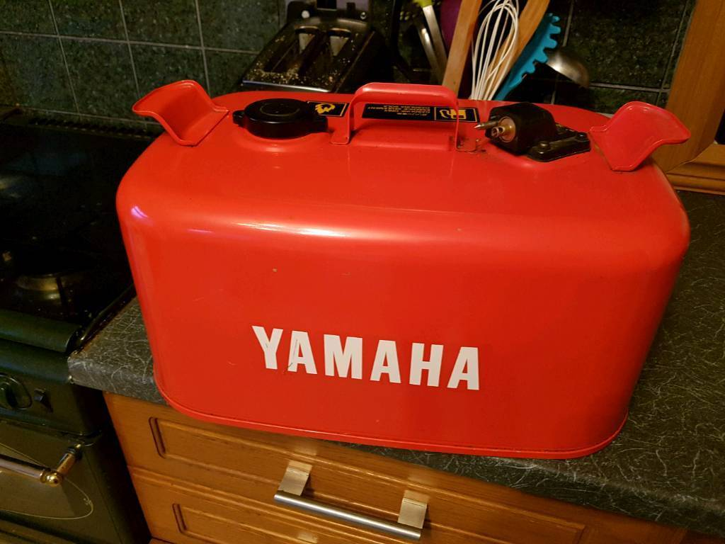 Yamaha Metal Outboard Boat Fuel Tank In Poole Dorset
