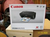Canon pixma mg2550s all in one printer bnib unused unopened boxed