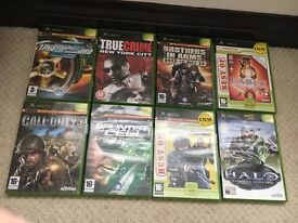 Xbox games and Xbox 360 games