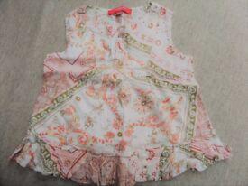 Girls bundle 6 items - age 4-5 year, M&S shorts,top,GAP jacket, Jasper Conran dress,Strawberry Faire