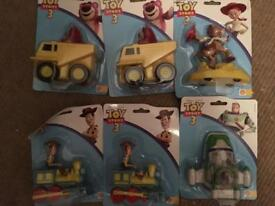 Collection of toy story 3 toys all new