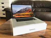 MacBook Pro Retina, 15-inch, Late 2013 Core i7, 256 SSD + 128 GB SSD, 8GB RAM