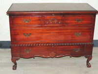 Storage chest solid cedarwood (Delivery)