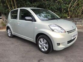 Daihatsu Sirion 1.0 £30 road tax 5 door good MOT 2008