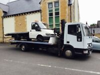 02 iveco breakdown recovery tilt and slide 3t hiab 22ft tilt and slide led beacon new tyres must see