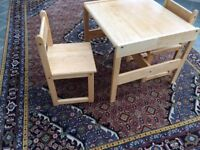 John Lewis Children's Table & Chairs