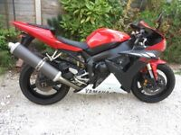 Yamaha R1 low mileage 1 owner