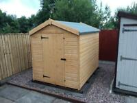 7x5 APEX ROOF £369.00 HEAVY DUTY ALL SIZES (FREE DELIVERY AND INSTALLATION)