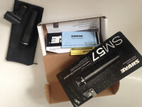 Shure SM57 dynamic microphone mint condition boxed