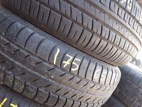 """Part worn tyres/ 175-65-14--185-65-14-15-16-17-18-19-20"""" Open 7 days a week Barking Ig117bg"""
