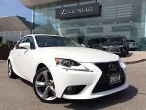 2014 Lexus IS 350 Executive Pkg AWD Navi Back Up Cam Leather