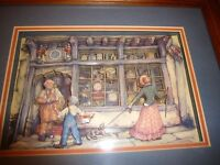 Pictures Framed Anton Pieck