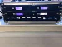 Shure BLX4R Lapel/Lavalier mics x4