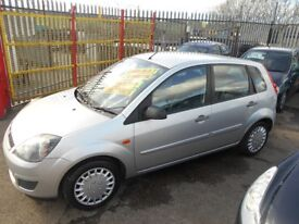 ford fiesta 1.4 style climate 5dr 2007 facelift mod,1 former keeper,service history,mot on purchase
