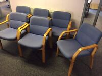 6 x Visitor Chairs
