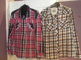 2 ladies shirts