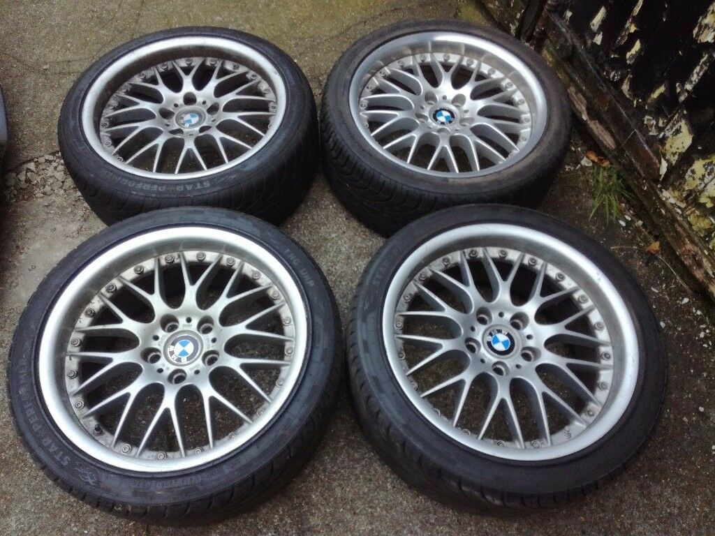 "BMW BBS RS 744/755 ALLOYS 18"""