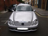 MERCEDES-BENZ C-CLASS 1.8 C180 KOMPRESSOR SPORT ED 2-DOOR COUPE AUTO 2005 (55 REG) - MINT SAMPLE!