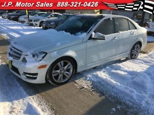 2012 Mercedes-Benz C-Class 300, Auto, Navi, Leather, Sunroof, AW
