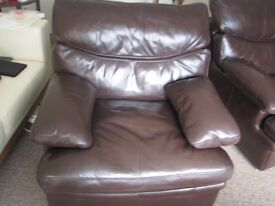 G Plan Leather armchairs - two for sale