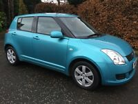 2009 Suzuki Swift 5 Door,28000 Miles,Full History,Mot