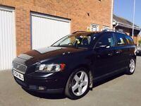 2004 04 Volvo V50 Estate 2.4 Petrol 12 Months MOT Cat D 109k not v70 d5 s40 astra 320 touring