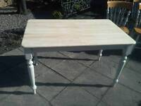 Pine Farmhouse Table, Shabby Chic