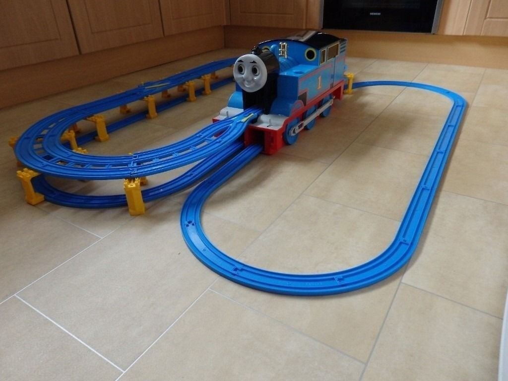 Rare Giant Thomas Tank Engine With Track Set 100 Complete With