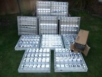 Ceiling Lights (Shed/Garage) x10 with box of Tubes.