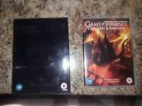 GAMES OF THRONES BOX SET