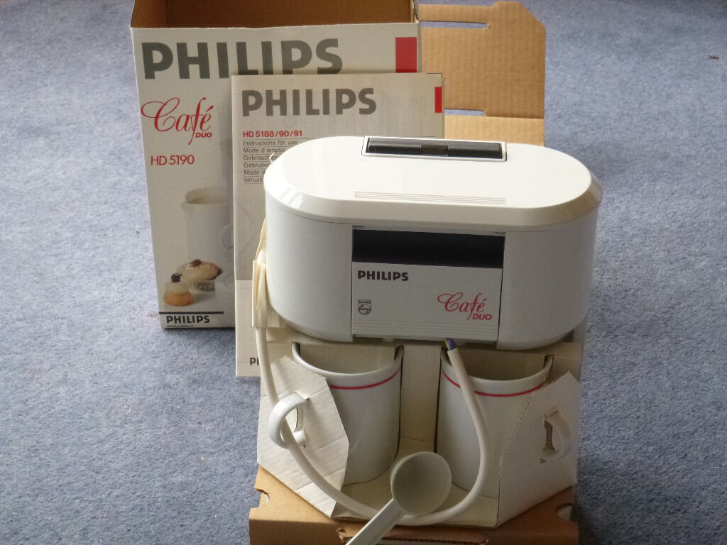 philips cafe duo hd5190 coffee machine unused and still in original box in sea mills bristol. Black Bedroom Furniture Sets. Home Design Ideas