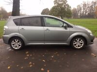 "!BARGAIN! 7 SEATER! 2008 (58) TOYOTA COROLLA VERSO DIESEL""SR"", FSH , 2 OWNERS, TIMING CHAIN, 53 MPG!"
