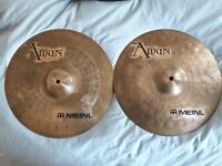 "Hi Hat Meinl Amun 14"" in perfect condition! RARE!"