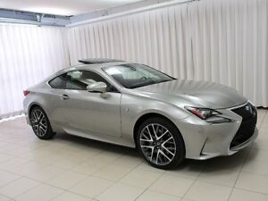 2015 Lexus RC 350 FSPORT AWD COUPE