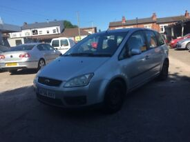 2006 (56) FORD FOCUS C-MAX ZETEC 1.6 PETROL **IDEAL WORKHORSE + SPACIOUS + P/X TO CLEAR**