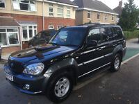 2004 04 REG HYUNDAI TERRACAN 2.9CDX CRDT 4X4 LWB 5 DOOR ESTATE