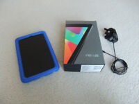 Google Nexus 7 Tablet with 2 Cases