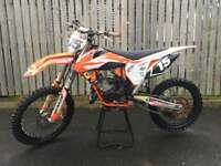 Ktm 150 sx Motocross bike not 250 450 Yzf Cr crf Rmz kxf kx