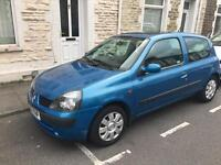 Renault Clio Dynamique 1.2 2002 with 9 Months Mot £450ono