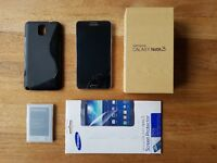 Galaxy Note 3 32Gb Perfect condition Fully working Unlocked with box and accessories