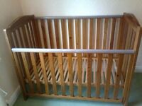 BABY BED,GOOD CONDITION,WITH MATTRESS...