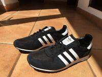 Adidas adistar racer black trainers. SIZE 10.5 BRAND NEW