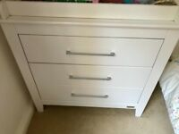 For sale - mamas and Papas baby changing unit / drawers