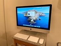 "UPGRADED TO VERY FAST SSD IMAC 27"" 5K RETINA LATE 2015,256GB SSD, 3.2GHZ I5,8GB RAM,BOXED"